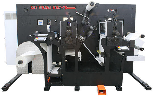 CEI Label Die Cutting Machine